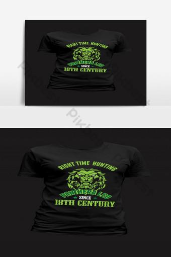 diseño de camiseta retro de león plantilla de camiseta de tipografía de león de la edad antigua Elementos graficos Modelo EPS