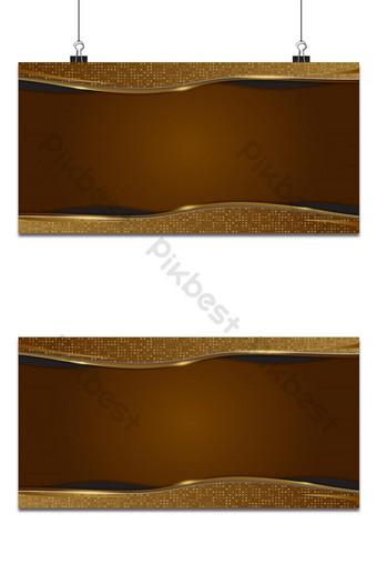 fondo dorado formas geométricas abstractas diseño de lujo papel tapiz capa realista Fondos Modelo AI