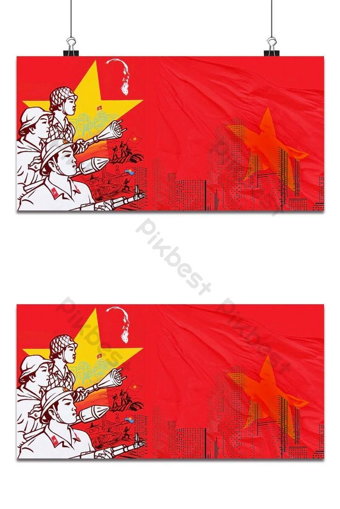 ngày 30 tháng 4 nền cờ đỏ sao vàng