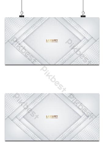 Fondo degradado blanco de lujo con textura hexagonal con patrones ondulados Fondos Modelo AI