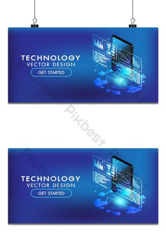 teléfono inteligente isométrico o tableta interfaz 3d pantalla de fondo inteligente y simple Fondos Modelo AI