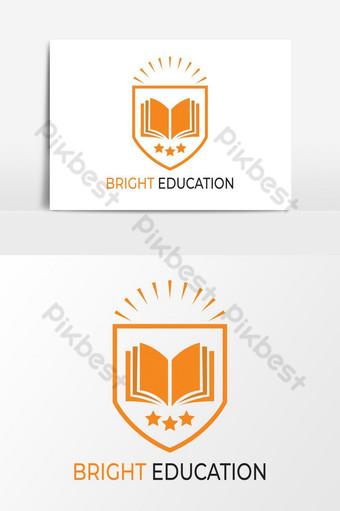 mejor educación logo diseño vector elementos gráficos Elementos graficos Modelo AI