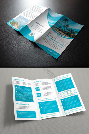 шаблон туристической брошюры сложения шаблон AI