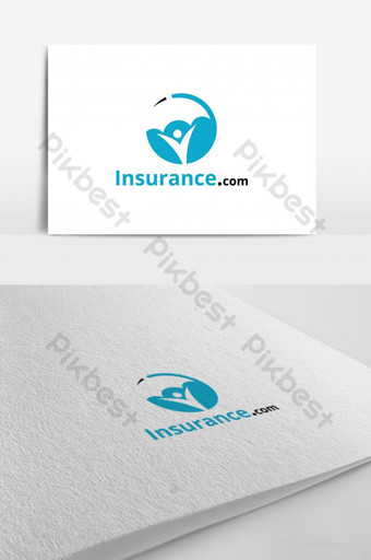 logo design template. Concept for insurance, secure, health, safety and protection. Template EPS
