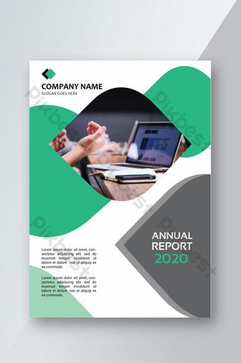 Gambar Sampul Laporan Tahunan Template Psd Png Vektor Download Gratis Pikbest