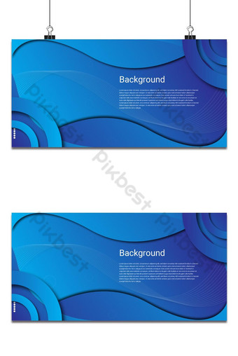 Background Design asul na klasikong modernong malikhaing Background Template EPS