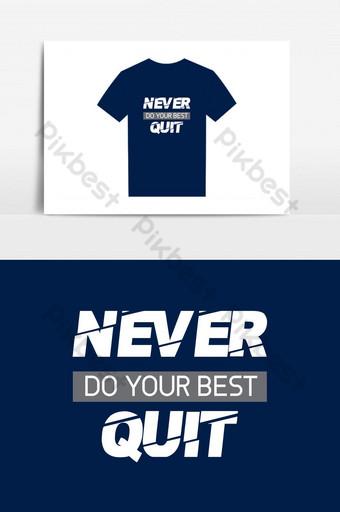 plantilla de camiseta simple con elementos gráficos de color azul oscuro plantilla ai Elementos graficos Modelo AI