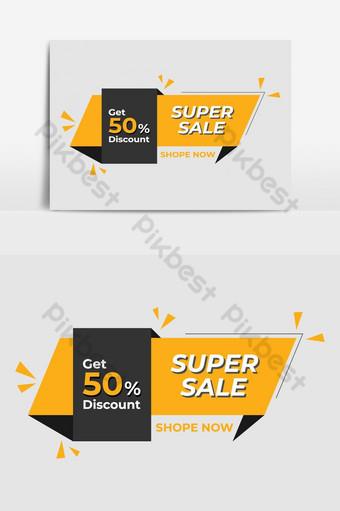 elemen grafik vektor untuk sepanduk meterai dan pelekat diskaun pemasaran untuk hari Jumaat hitam Elemen Grafik Templat EPS