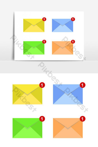 message illustrated in vector on white background PNG Images Template EPS