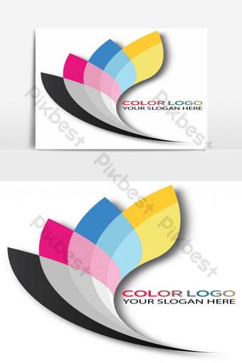 archivo de ai de logotipo de color creativo Elementos graficos Modelo AI