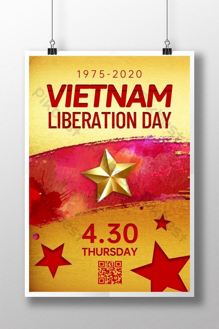 ngày giải phóng poster quảng cáo việt nam