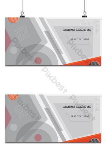 diseño de fondo abstracto de forma blanca simple Fondos Modelo EPS