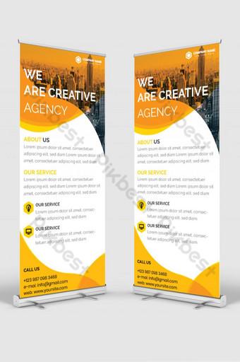 enrollar banner para negocios corporativos Modelo EPS