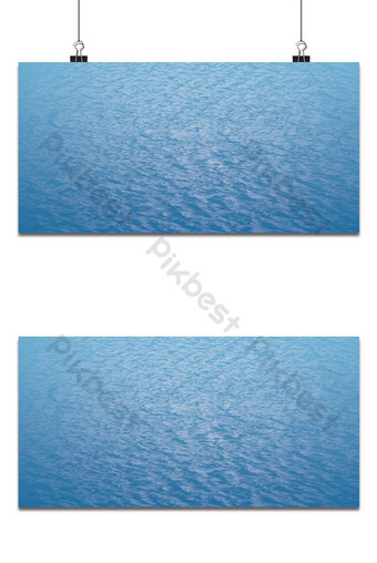 Blue sea water surface background Backgrounds Template PSD