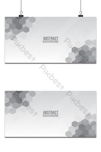 patrón de fondo blanco abstracto elegante forma de hexágonos y plantilla de diseño de textura Fondos Modelo AI