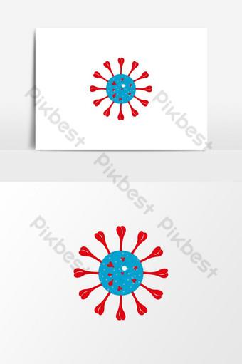 icono de coronavirus novela corona virus logo coronavirus 2019ncov covid 19 covid 19 ncp ai Elementos graficos Modelo EPS