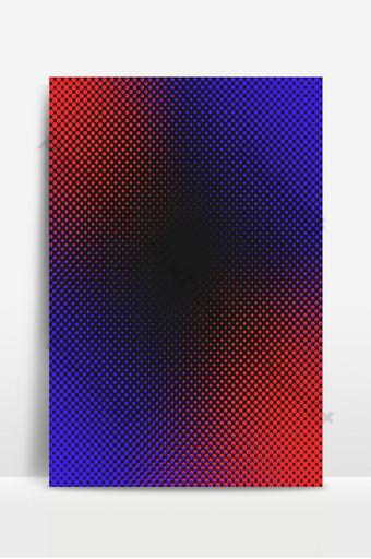 plantilla de diseño de fondo rojo azul de semitono Fondos Modelo PSD