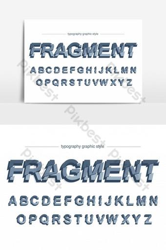 مجردة شرائح الخط الطباعة الفضية الكبيرة صور PNG قالب EPS