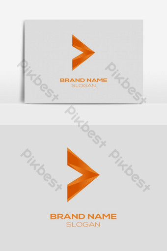 Mayor que y v letra logo diseño de plantilla multicolor e ilustración vectorial Elementos graficos Modelo PSD