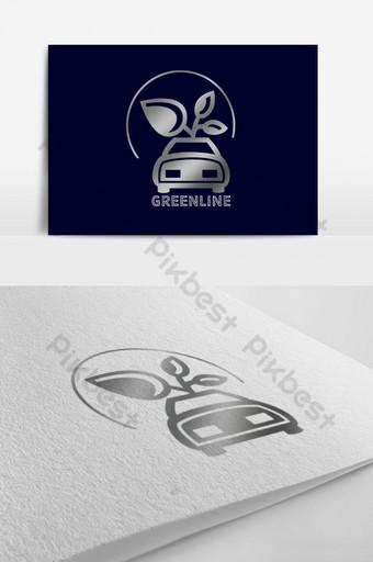 auto móvil creativo simple coche s logo Modelo PSD