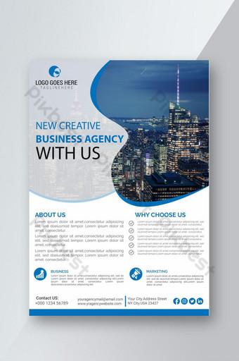 nouveau dépliant d'entreprise créative psd Modèle PSD
