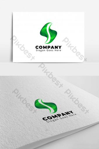 naturaleza logo s carta logo diseño Modelo AI