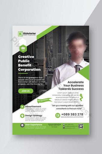 Modèle de conception de flyer d'entreprise psd Modèle PSD