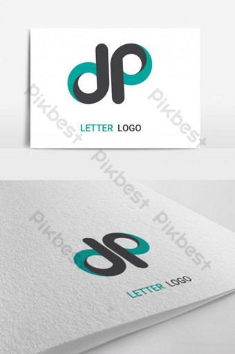 d p logo世界一流的設計模板 模板 AI