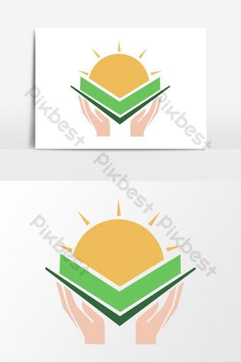 diseño de logotipo de empresa moderna Elementos graficos Modelo PSD