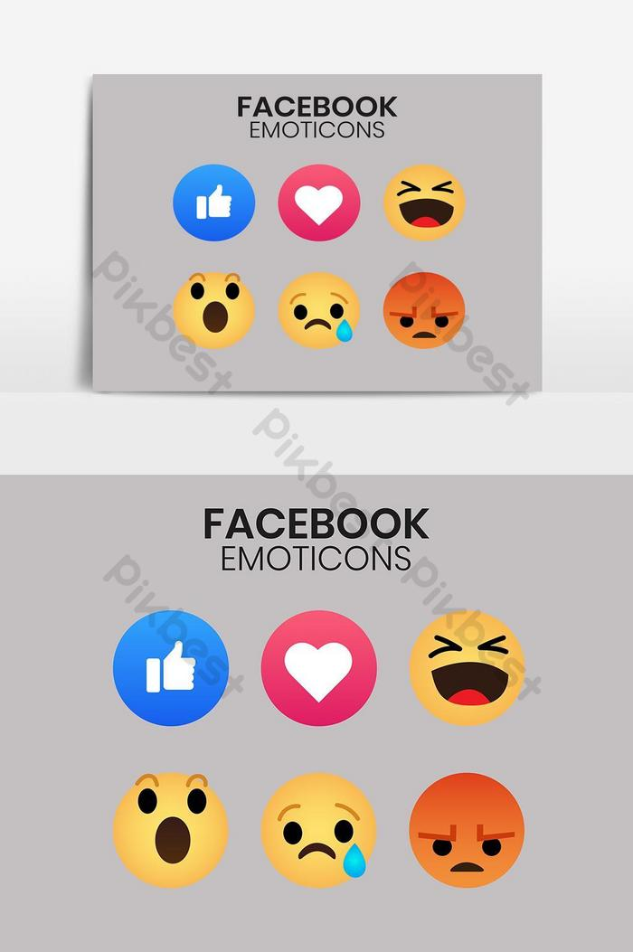 Emoji Facebook Reactions Icon Png Images Eps Free Download Pikbest