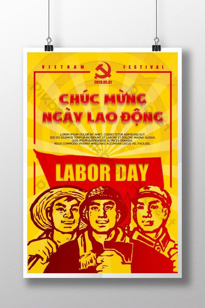 poster ngày lao động