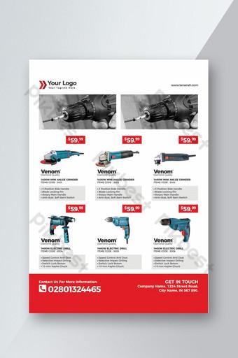brosur katalog produk profesional untuk promosi bisnis Anda Templat PSD