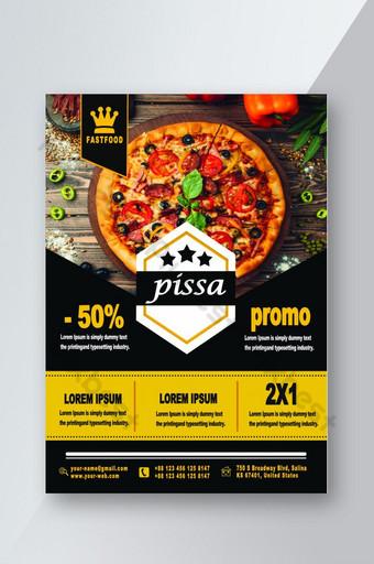 Modèle de conception de flyer de restaurant Modèle PSD