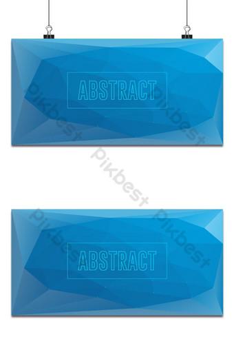 Fondo de baja poli con degradado de color azul clásico, es perfecto para el papel tapiz del sitio web Fondos Modelo EPS