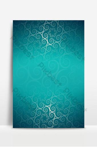 latar belakang layer terbuka hijau biru islami Latar belakang Templat PSD