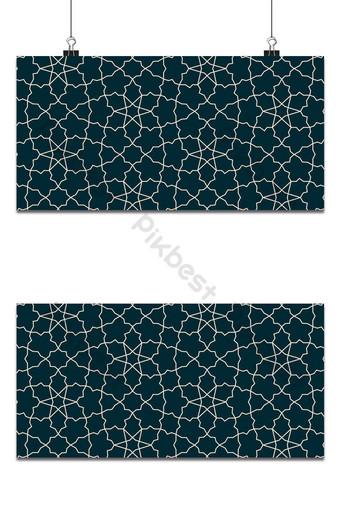 patrón de forma de estrellas geométricas sin costuras utilizable para el fondo de cualquier diseño islámico Fondos Modelo EPS