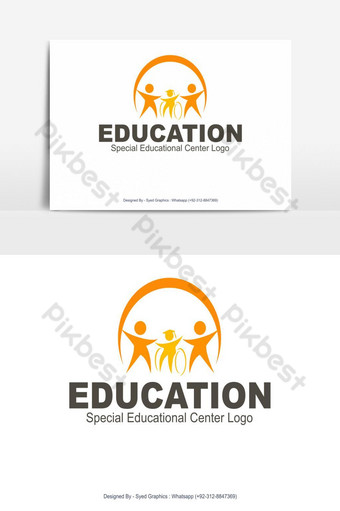 logo del centro educativo especial Elementos graficos Modelo EPS