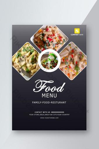 pamflet makanan pamflet makanan pamungkas Templat PSD