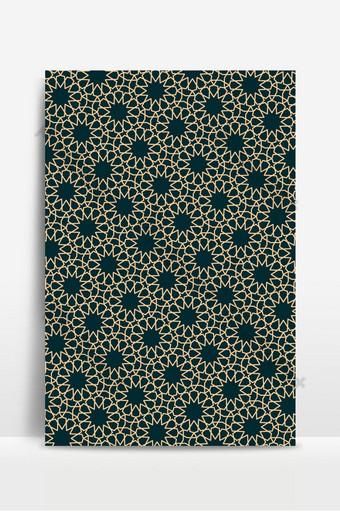 pola bintang geometris islami dapat digunakan sebagai pola wallpaper latar belakang untuk desain apa pun Latar belakang Templat EPS
