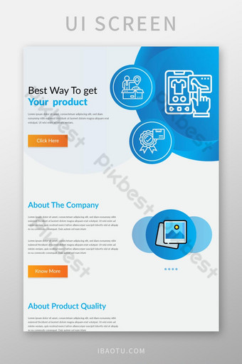 Latest multipurpose corporate business mail chimp email template Design UI Template AI