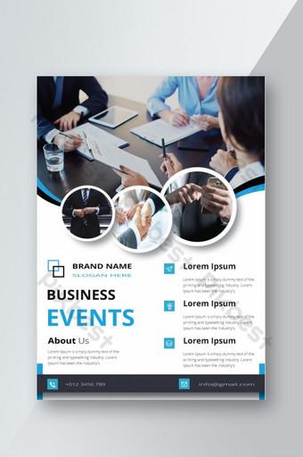 Creative Flyer Corporate Design Flyer Top Class Très beau un dépliant d'entreprise Ai file Modèle AI