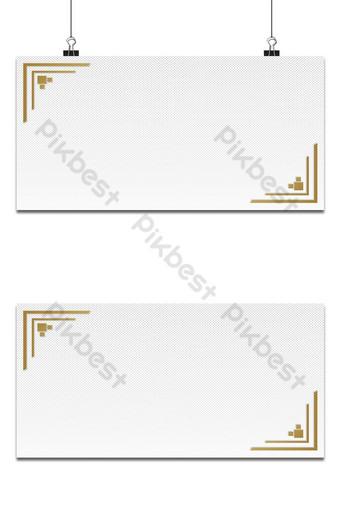 fondo blanco y gris puntos de semitono estilo abstracto marco dorado decoración premium Fondos Modelo AI