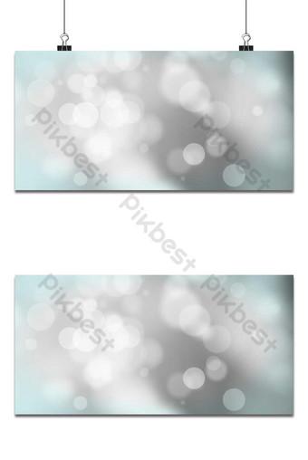 Fondo de desenfoque de bokeh blanco círculo de luz sobre fondo azul fondo claro abstracto Fondos Modelo PSD