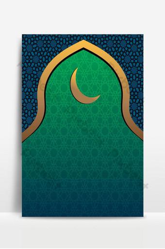 تصميم خلفية إسلامية صالحة للاستخدام في عيد الفطر رمضان أو أي تصميم إسلامي آخر خلفيات قالب EPS