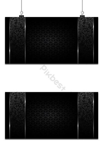 fondo negro abstracto estera geométrico gris color elegante futurista brillante luz Fondos Modelo AI