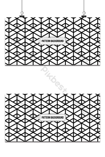 Modern stylish geometric pattern background. Abstract seamless texture Backgrounds Template EPS
