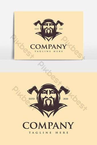 gran maestro carpintero logo Elementos graficos Modelo EPS