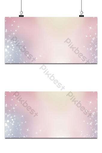 Fondo abstracto con una variedad de copos de nieve de colores grandes y pequeños Fondos Modelo PSD