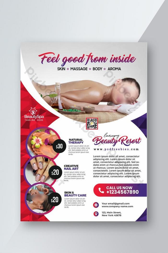 Beauty Salon Flyer Design Template Psd Free Download Pikbest