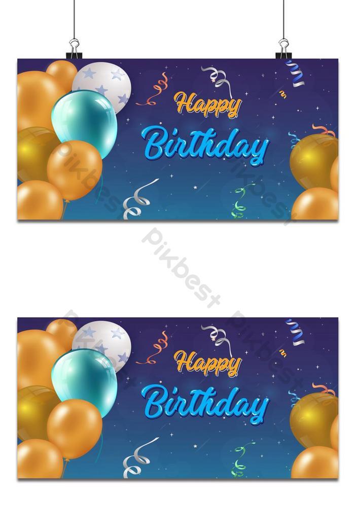 lễ kỷ niệm sinh nhật mẫu thiết kế nền các vector